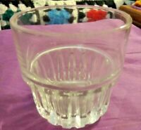 Libbey Duratuff Stack-able (1) Whiskey Glass  Available Holds 7 oz. Made In USA!