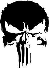 Punisher Skull Premium Vinyl Decal