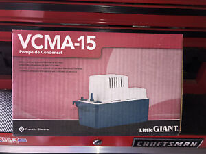 Little Giant VCMA-15ULS Series 1/50 HP Condensate Extraction Pump