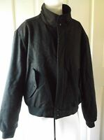 Vintage Members Only by Europe Craft Wool Knit Cafe Racer Bomber Jacket Mens 46