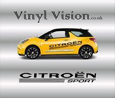 Citroen Sport logo stickers graphics decals car C1 C2 C3 C4 Saxo DS3 Adhesive