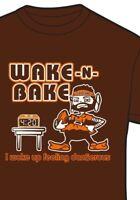 Cleveland Browns WAKE AND BAKE 4:20 Baker Mayfield Shirt Wake up dangerously
