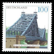 Germany 2000 - Bridges - Blaues Wunder, Dresden Architecture - Sc 2080 MNH