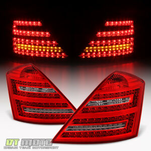 2007 2008 2009 Mercedes Benz W221 S Class S450 S600 S550 LED Tail Lights Lamps