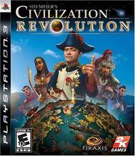NEW Sid Meier's Civilization Revolution Playstation 3