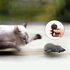 Raton Rata electronico RC control remoto inalambrico Ratones para gato perr T1F3