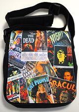 Goth Horror Punk Retro B carteles de cine señoras pequeño bolso de hombro