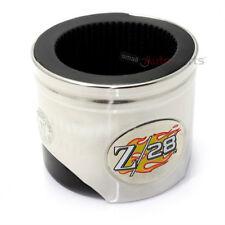 NEW- Chevy Camaro Z/28 Logo Piston Shaped Soda Cup Can Mug Cooler Holder Koozie