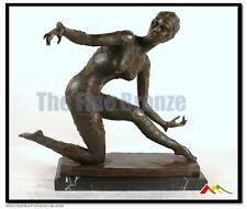 Bronze art deco dancer sculpture, SIGNED D.H.Chiparus