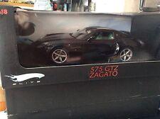 1:18 Hotwheels Elite Ferrari 575 GTZ Zagato Black