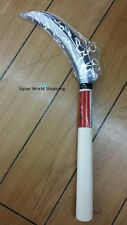Serrated Sickle / Branch Pruner Wooden Handle Japanese 16cm Great Quality Japan