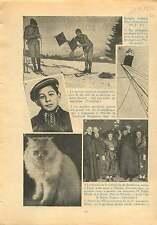 Concours National Militaire Ski Mont Revard Savoie/Chat France 1932 ILLUSTRATION