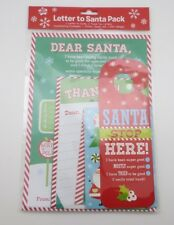 A Letter To Santa Christmas Pack with Door Stop Hanger and Thank You Cards