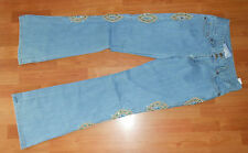 Suzanne Somers Collection gorgeous sparkle Embellished Jeans NWT Size 4 (31x33)