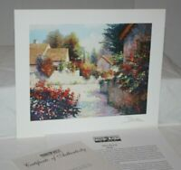 """Perez Village View III 1999 Park West 6.75"""" x 8.75"""" Signed Seriolithograph & COA"""