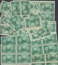 {BJ STAMPS}  #930  F.D. Roosevelt   1 cent 100 mint single stamps.   1945