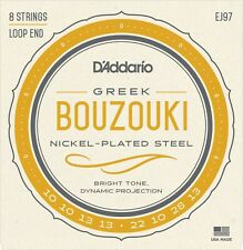 EJ97 D'Addario  Greek Bouzouki Strings 8 String Nickel Plated Steel