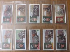 FAMOUS DIRT-TRACK RIDERS -  OGDENS  -  Complete Set of 50 - 1929 - EX/EX+