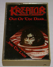 Kreator Out Of The Dark and Into The Light 1988 Cassette Tape Rare Out Of Print