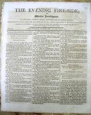 1805 newspaper HARRSIBURG is selected be the new Capital city of PENNSYLVANIA