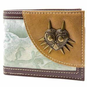 Official Nintendo Zelda Majora's Mask Brown ID & Card Wallet *SECOND*