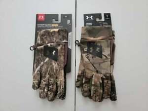 Under Armour Men's Hunt Early Season Fleece Glove NWT 2021