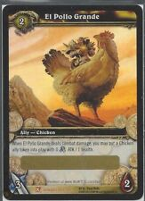 Fields of Honor Warcraft WOW TCG El Pollo Grande Chicken Mount Loot NEW Unused