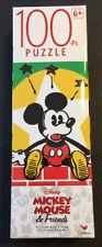 """Disney Mickey Mouse 100 piece Jigsaw Puzzle 10.3"""" x 9.1"""" Brand New"""