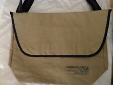 American Eagle Outfitters Men's Messenger Bag Tan Brown Brand New