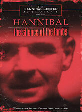 The Hannibal/Silence of the Lambs (DVD, 2002, 3-Disc Set) Out Of Print Edition!