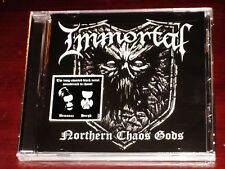 Immortal: Northern Chaos Gods CD 2018 Nuclear Blast Records USA NB 3220-2 NEW