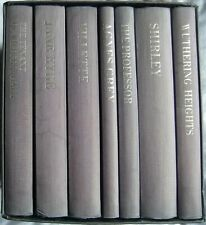 7 Bronte Novels inc Wuthering Heights; Hardback with case (Folio 1993)