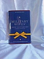 The NIV NEW TESTAMENT For Military Wives With Psalms And Proverbs Hardcover