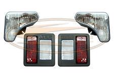 Bobcat® T595 T630 T650 Headlight Tail Light Kit With Bulbs Lens lamp Skid Steer