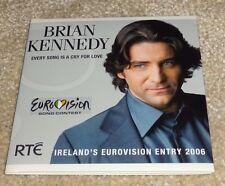 Eurovision 2006 Ireland Brian Kennedy Every Song is a Cry For Love promo CD