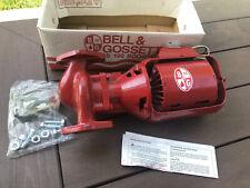 Bell & Gossett 100 Series Cast Iron Booster Pump - 106189 - New, Open Box