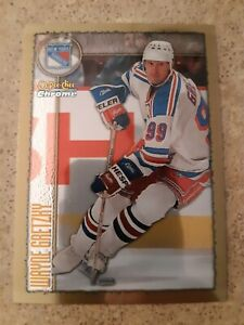 1997-98 O Pee Chee Chrome OPC Wayne Gretzky #219 New York Rangers