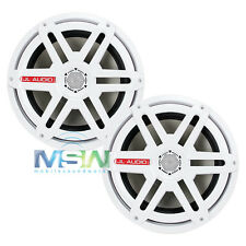 """NEW JL AUDIO M880-CCX-SG-WH 8.8"""" 2-Way MARINE COAXIAL SPEAKERS w/ SPORT GRILLES"""