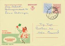 BELGIUM ANTWERPEN C C X SC 1970 (Postal Stationery 2 F + 0,50, PUBLIBEL 2327 N)