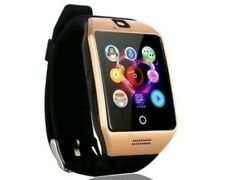 GOLD SmartWatch android bluetooth watch compatibl w/Samsung/Iphone n more Unisex