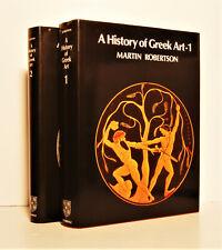 A History of Greek Art (2 volume set) ROBERTSON, Martin. 1991 (2nd Ed)