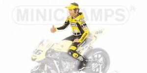 MINICHAMPS 312 050096 VALENTINO ROSSI riding figure Laguna Seca MotoGP 2005 1:12