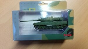 Herpa 746182 - 1/87 Battle Tank Leopard 2A7, Undecorated - New