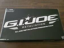 GI JOE RETALIATION AMAZON EXCLUSIVE PREMIERE 4 PACK MIB