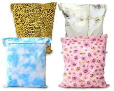 14x17 Leopard Cloud Marble Roses Designer Poly Mailers Shipping Mailing Bags