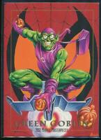 1992 Marvel Masterpieces Trading Card #36 Green Goblin