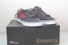 Original chaussure homme skate EMERICA Jinx T : 35 gris rouge  neuf