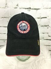 White Pass & Yukon Route Black Hat Cap Strap Back Skagway Alaska