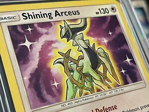 Pokemon Shining Legends Shining Arceus 57/73 Holo Rare Near Mint