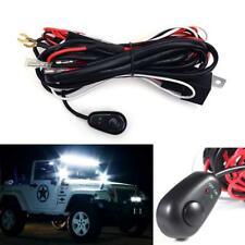 40A 12V LED Driving&Fog lights Universal Wiring Harness Relay + ON / OFF Switch